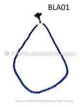Afghan lapis beads, hand crafted lapis beads jail Strand of small round beads