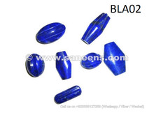 afghan lapis beads of different Shapes