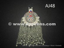 afghan kuchi handmade pendants for belts and necklaces