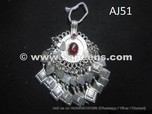 afghan kuchi fore head pendant, handmade kuchi wholesale jewelry