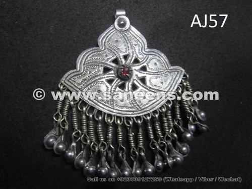 afghan kuchi pendant for belts and necklaces