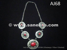 kuchi wholesale necklaces with coral stones