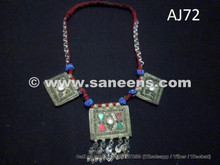 afghan kuchi tribal chokers