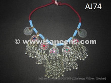 handmade afghan kuchi necklace