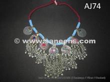 handmade afghan kuchi necklace
