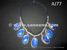fashionable odissi tribal chokers with large stones