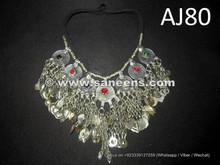 wholesale kuchi jewelry necklaces with long chains