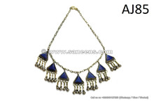 kuchi wholesale jewelry with lapis lazuli stones