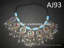 afghan kuchi handmade coin necklace