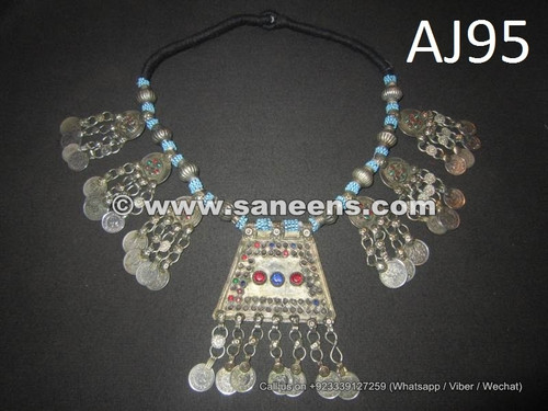 kuchi afghan jewelry necklaces