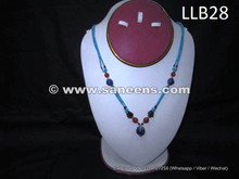 wholesale kuchi tribal locket with lapis stones