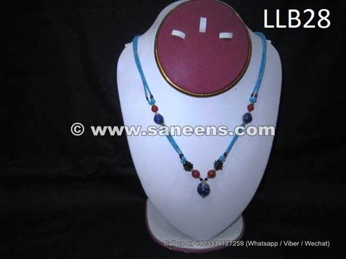 wholesale kuchi tribal locket with lapis stones