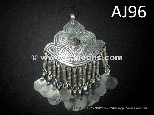afghan kuchi pendants for bellydance belts and necklaces