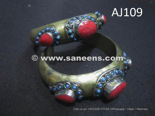 kuchi wholesale bangles with coral stones