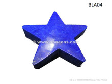 afghan lapis stone star, afghan genuine lapis lazuli decoration piece