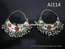 wholesale kuchi afghan earrings online
