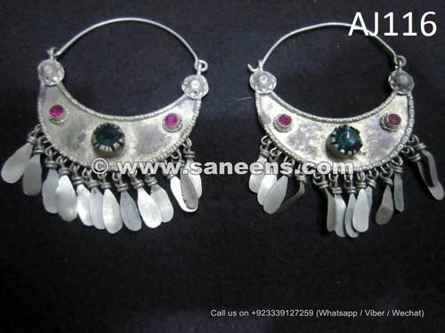 wholesale kuchi afghan earrings, ats bellydance performers earrings