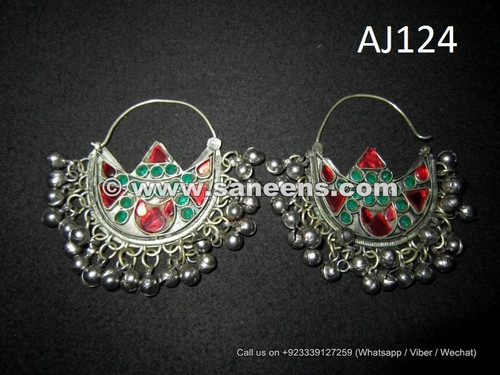 kuchi afghan beautiful earrings in wholesale