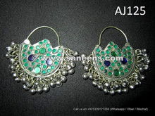 afghan kuchi handmade earrings