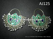 afghan kuchi handmade earrings