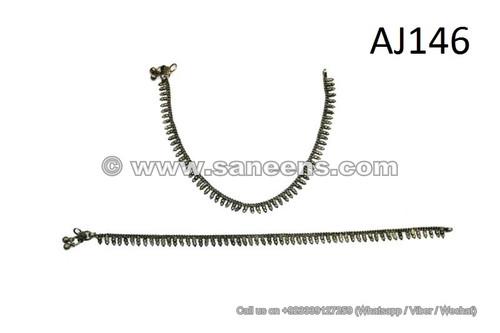 afghan kuchi jewellery anklets
