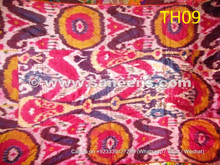 afghan tribal silk ikat