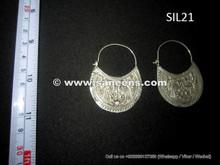 wholesale kuchi jewelry earrings in pure silver