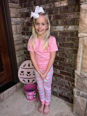 Spring Pjs Pink Stripe