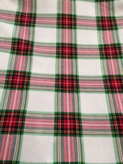 Christmas Fabric- Plaid 1/4 yard