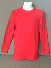 Adult Long Sleeve Red TEE ONLY-Retail