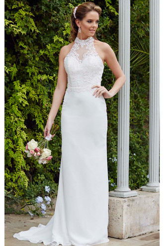 "Tiffanys Bliss ""Charlie"" wedding dress."