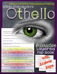 Othello Novel Study Flip Book