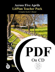 Across Five Aprils LitPlan Lesson Plans on CD