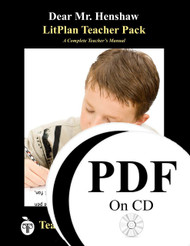 Dear Mr. Henshaw LitPlan Lesson Plans (PDF on CD)