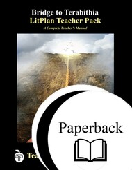 Bridge to Terabithia LitPlan Lesson Plans (Paperback)