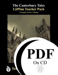 The Canterbury Tales Lesson Plans   LitPlan Teacher Pack CD
