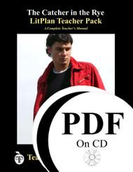 The Catcher in the Rye Lesson Plans | LitPlan Teacher Pack on CD