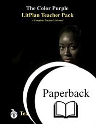 The Color Purple LitPlan Lesson Plans (Paperback)