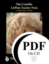The Crucible LitPlan Lesson Plans (PDF on CD)
