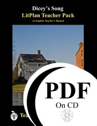 Dicey's Song LitPlan Lesson Plans (PDF on CD)