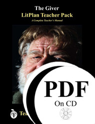 The Giver LitPlan Lesson Plans (PDF on CD)