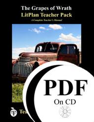 The Grapes of Wrath LitPlan Lesson Plans (PDF on CD)