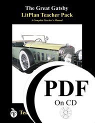 The Great Gatsby LitPlan Lesson Plans (PDF on CD)