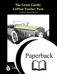The Great Gatsby LitPlan Lesson Plans (Paperback)