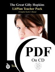 The Great Gilly Hopkins LitPlan Lesson Plans (PDF on CD)