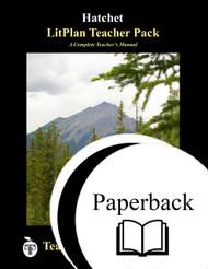 Hatchet LitPlan Lesson Plans (Paperback)