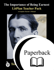The Importance of Being Earnest LitPlan Lesson Plans (Paperback)