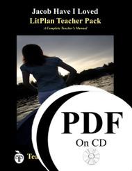 Jacob Have I Loved LitPlan Lesson Plans (PDF on CD)