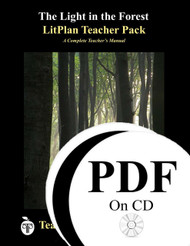 The Light in the Forest LitPlan Lesson Plans (PDF on CD)