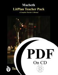 Macbeth LitPlan Lesson Plans (PDf on CD)
